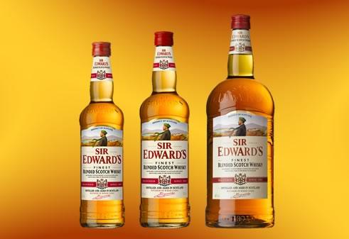 Виски Сэр Эдвардс: история, обзор вкуса и видов