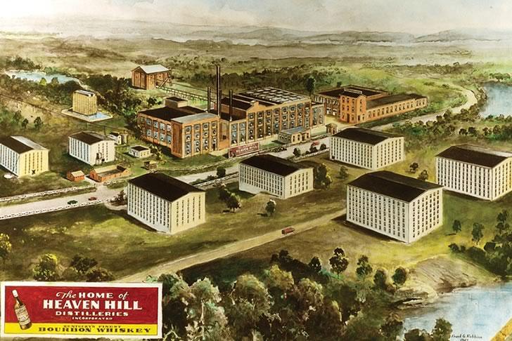 Завод Heaven Hill Distilleries, Inc.
