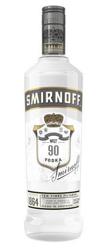 Smirnoff Silver 90 Proof