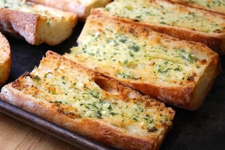 Чесночный хлеб рецепт