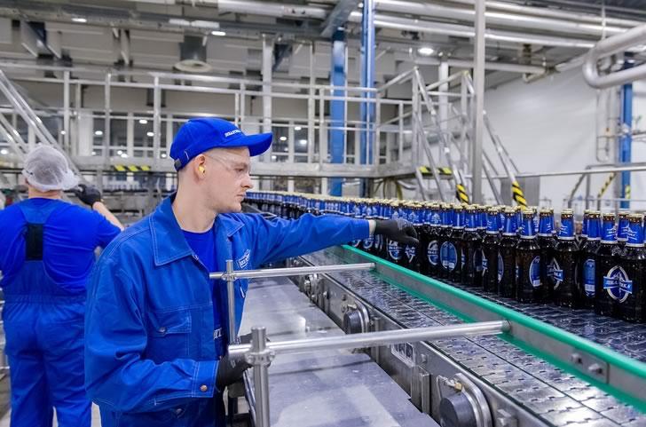 Завод пива Балтика