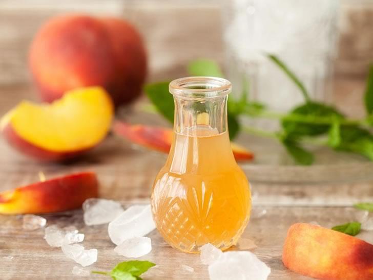 Персиковый сироп: 3 рецепта в домашних условиях