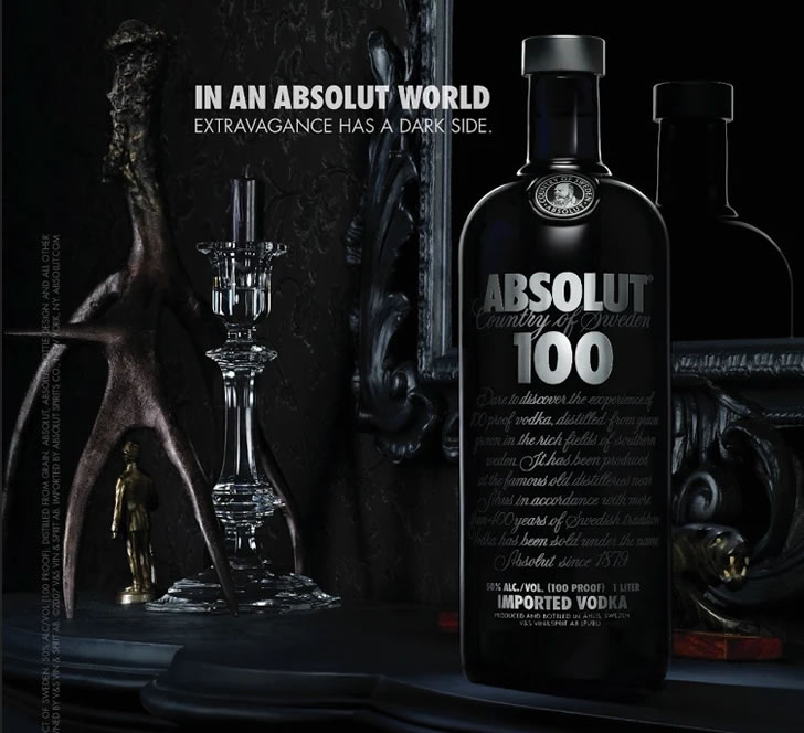 Absolut 100 Black