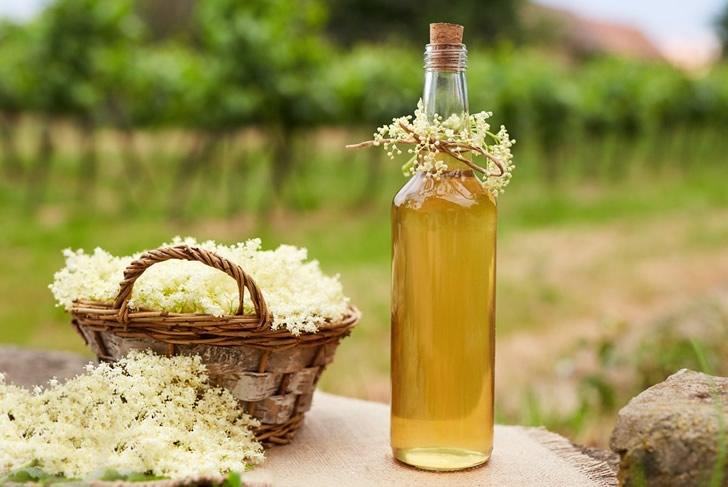 Сироп из цветков Бузины: 2 рецепта в домашних условиях