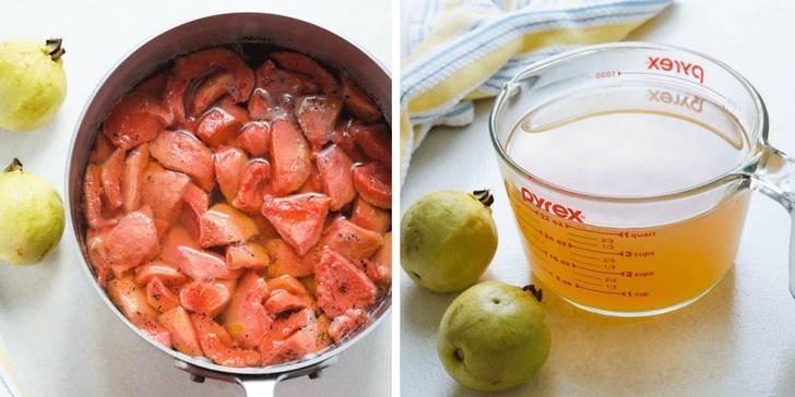 Сироп из гуавы: 2 рецепта в домашних условиях