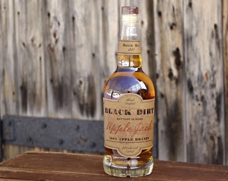 Black Dirt Distillery's Bonded Apple Jack