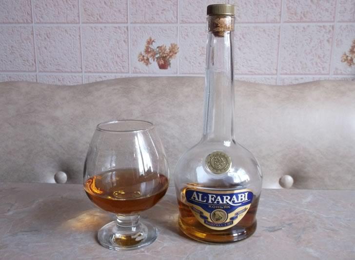 Коньяк из Казахстана Al Farabi