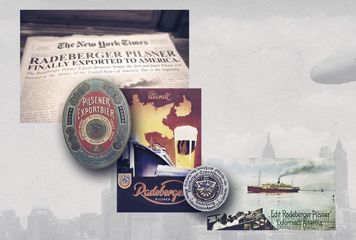 Radeberger газеты и постеры