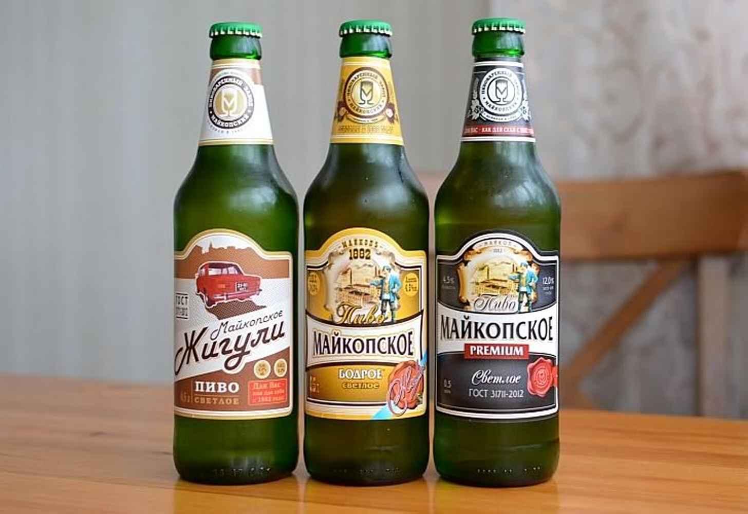 Майкопское пиво: история + краткий обзор видов