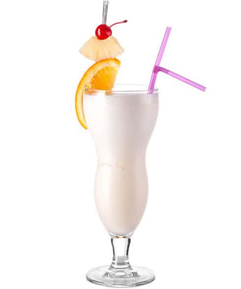 Пина Колада рецепт и фото коктейля