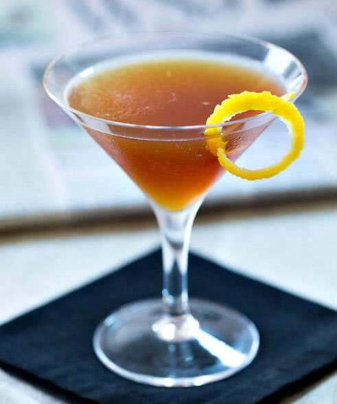 Газета рецепт коктейля, состав, фото