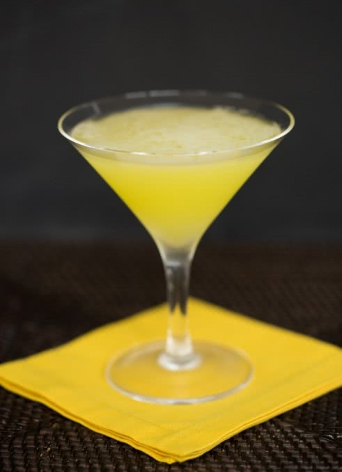 Желтая лихорадка рецепт коктейля, состав, фото