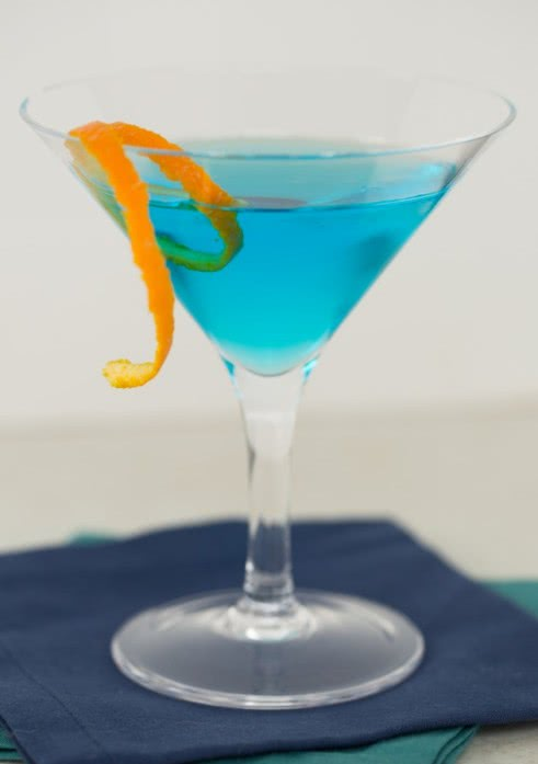 Синий понедельник фото коктейля
