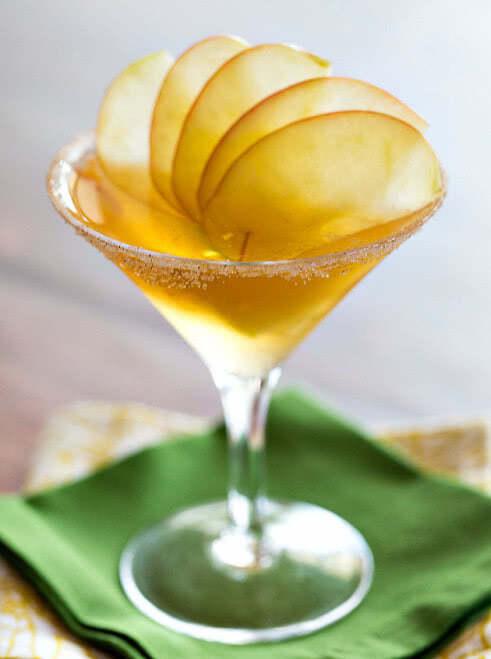 Пряное яблоко рецепт коктейля, состав, фото