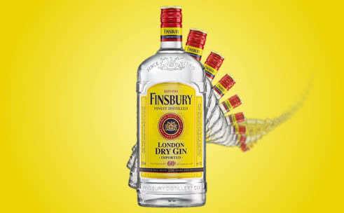 Джин Finsbury: обзор вкуса и история коротко